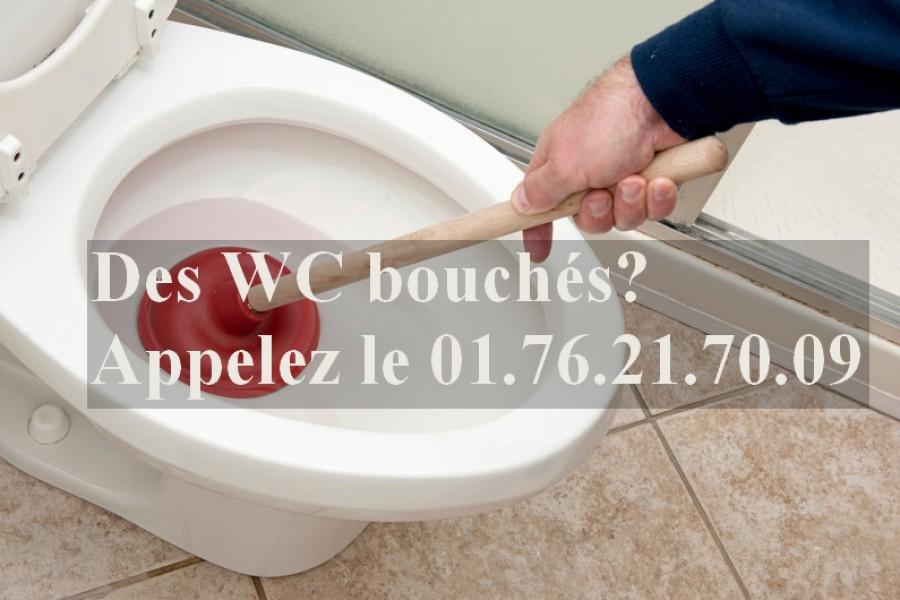 WC Bouché, que faire?